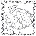 Мандалы - геомандала 12