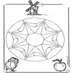 Мандалы - геомандала 3