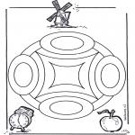 Мандалы - геомандала 4