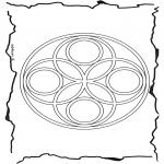 Мандалы - геомандала 6