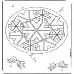 Мандалы - геомандала 8