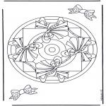 Мандалы - геомандала 9
