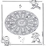 Мандалы - геомандала