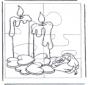 Головоломка свечи