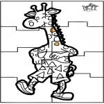 Рукоделие - Головоломки жирафа