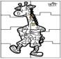 Головоломки жирафа