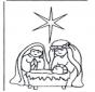 Иисус в колыбели 1