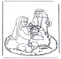 Иисус в колыбели 2