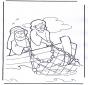 Иисус в лодке