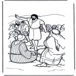 Раскраски по Библии - Иоанн Креститель