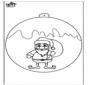 Ёлочный шар - Санта-Клаус 1