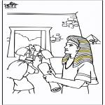 Раскраски по Библии - Иосиф