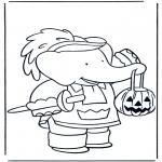 Темы - Хэллоуин Бабар