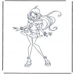 Персонажи комиксов - Клуб Винкс 1