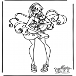 Персонажи комиксов - Клуб Винкс 12
