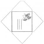 Рукоделие - Конверт единорог