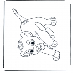 Персонажи комиксов - Король Лев Симба