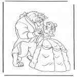 Персонажи комиксов - Красавица и чудовище 3