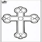 Раскраски по Библии - Крест