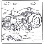 Разнообразные - Крестьянин и крестьянка