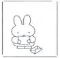 Кроличка с письмом