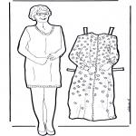 Рукоделие - Кукла (бабушка) для одевания