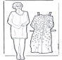 Кукла (бабушка) для одевания