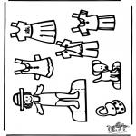 Рукоделие - Кукла для одевания 3