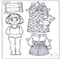 Кукла для одевания 5