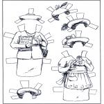 Рукоделие - куклы - Одежда 5