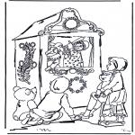 Детские раскраски - Кукольный театр