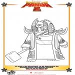 Персонажи комиксов - Кунг-фу панда 2 Рисунок 3