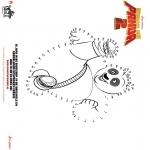 Персонажи комиксов - Кунг-фу панда 2 Точка за точкой 1