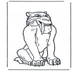 Персонажи комиксов - Ледниковый период 1