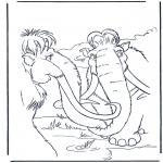 Персонажи комиксов - Ледниковый период 11