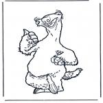 Персонажи комиксов - Ледниковый период 5