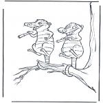 Персонажи комиксов - Ледниковый период 6