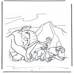 Персонажи комиксов - Ледниковый период 9