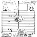 Рукоделие - Лист календаря 6