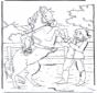 Лошадь бьет копытом