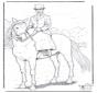 Лошадь с дамой