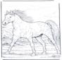 Лошадь в галлопе