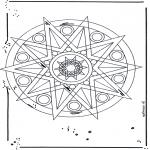 Мандалы - Мадала со звездами 1