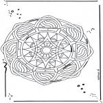 Мандалы - Мадала со звездами 2