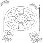 Мандалы - Мандала 10