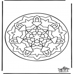 Мандалы - Мандала 36