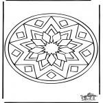 Мандалы - Мандала 39