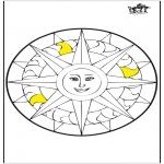 Мандалы - Мандала - Солнце