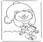 Медведь и лягушка