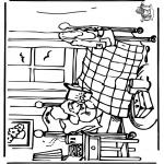 Детские раскраски - Медвежонок Пэддингтон 5